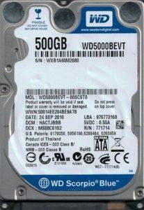 ремонт диска western digital