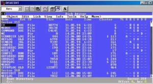 дисковый редактор